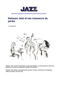 NAISSAM_JALAL_REVUE DE PRESSE_NAISSAM JALAL_QUEST OF THE INVISIBLE_Chronique concert jazz mag