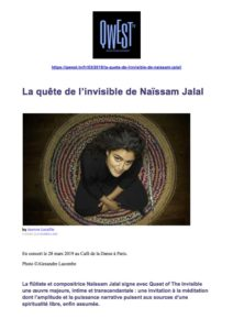 NAISSAM_JALAL_REVUE DE PRESSE_NAISSAM JALAL_QUEST OF THE INVISIBLE_Entretien Qwest TV